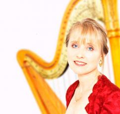 Geraldine McMahon wedding function harpist Hertfordshire