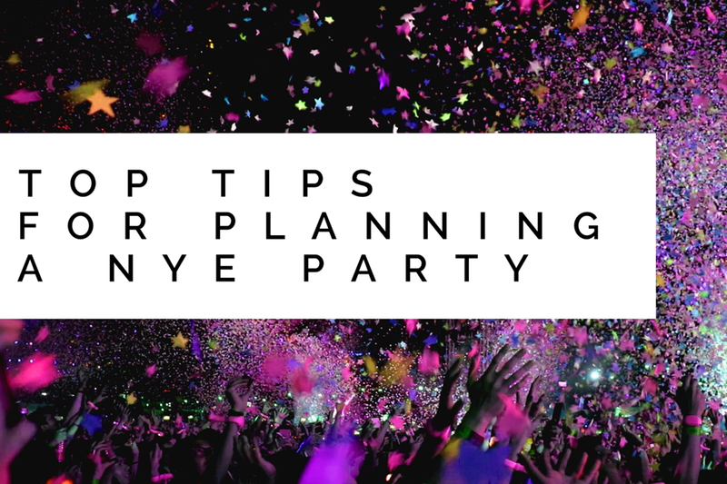 Top tips for planning a New Years Eve party | Function ...